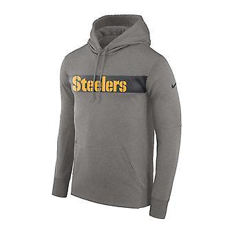 Nike Nfl Pittsburgh Steelers Therma Po Hood