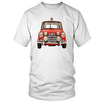 Mini Cooper klassisk britisk bil damer T skjorte