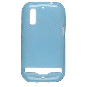Wireless Solutions Criss Cross Dura-Gel Case for Motorola Photon 4G MB855 - Turq