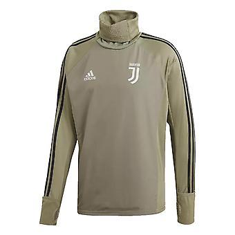 2018-2019 Juventus Adidas Warm Top (Clay)