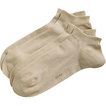 Esprit grundläggande Sneaker 2 Pack strumpor - grädde