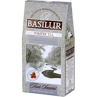 Basilur Tea - Winter Tea - Black Loose Tea With Cranberry