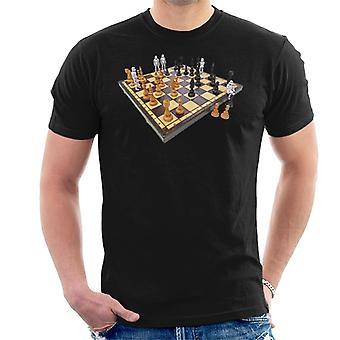 Original Stormtrooper Chess Board mäns T-Shirt