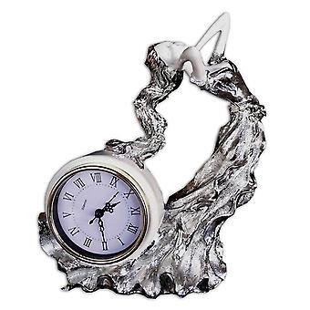 O relógio com uma garota, 30 x 23 x 13 cm