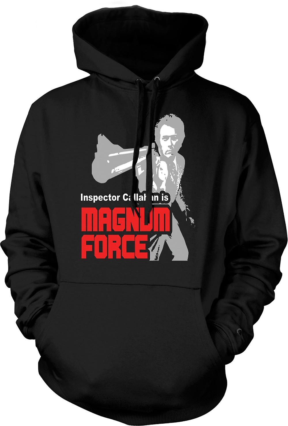 Mens Hoodie - Dirty Harry Magnum Force - Movie