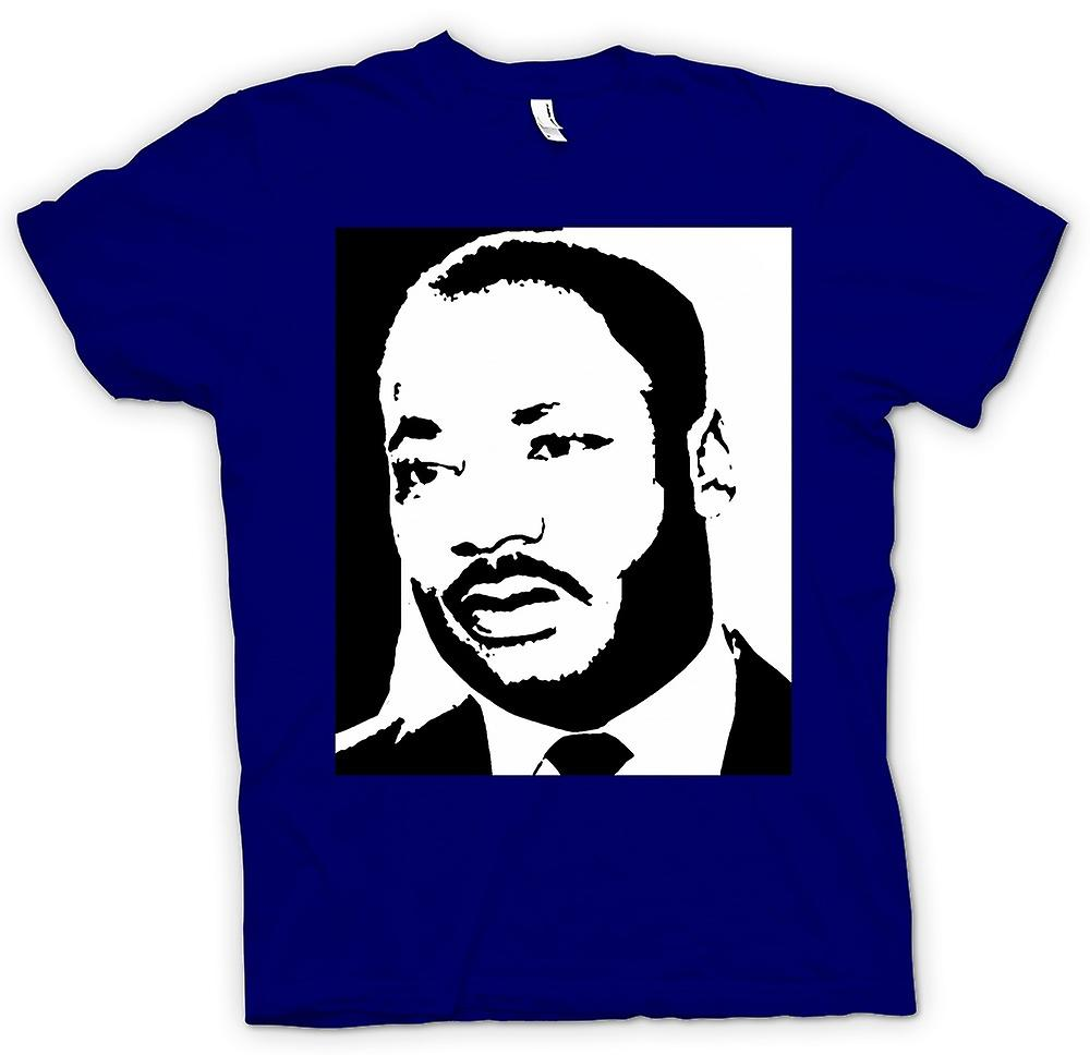 Herren T-Shirt - Martin Luther King - BW Icon