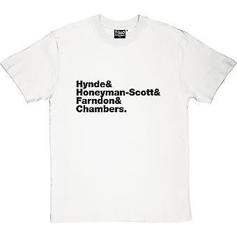 Prätendenten Line-Up Herren T-Shirt