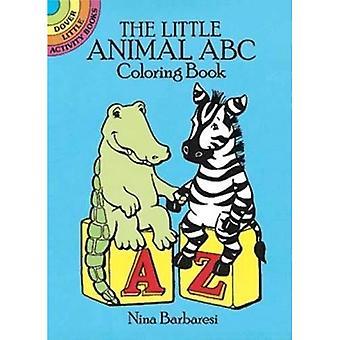 Das kleine Tier ABC Malbuch