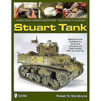 Armure à grande échelle de modélisation: Construction d'un réservoir de Stuart 1/6eme