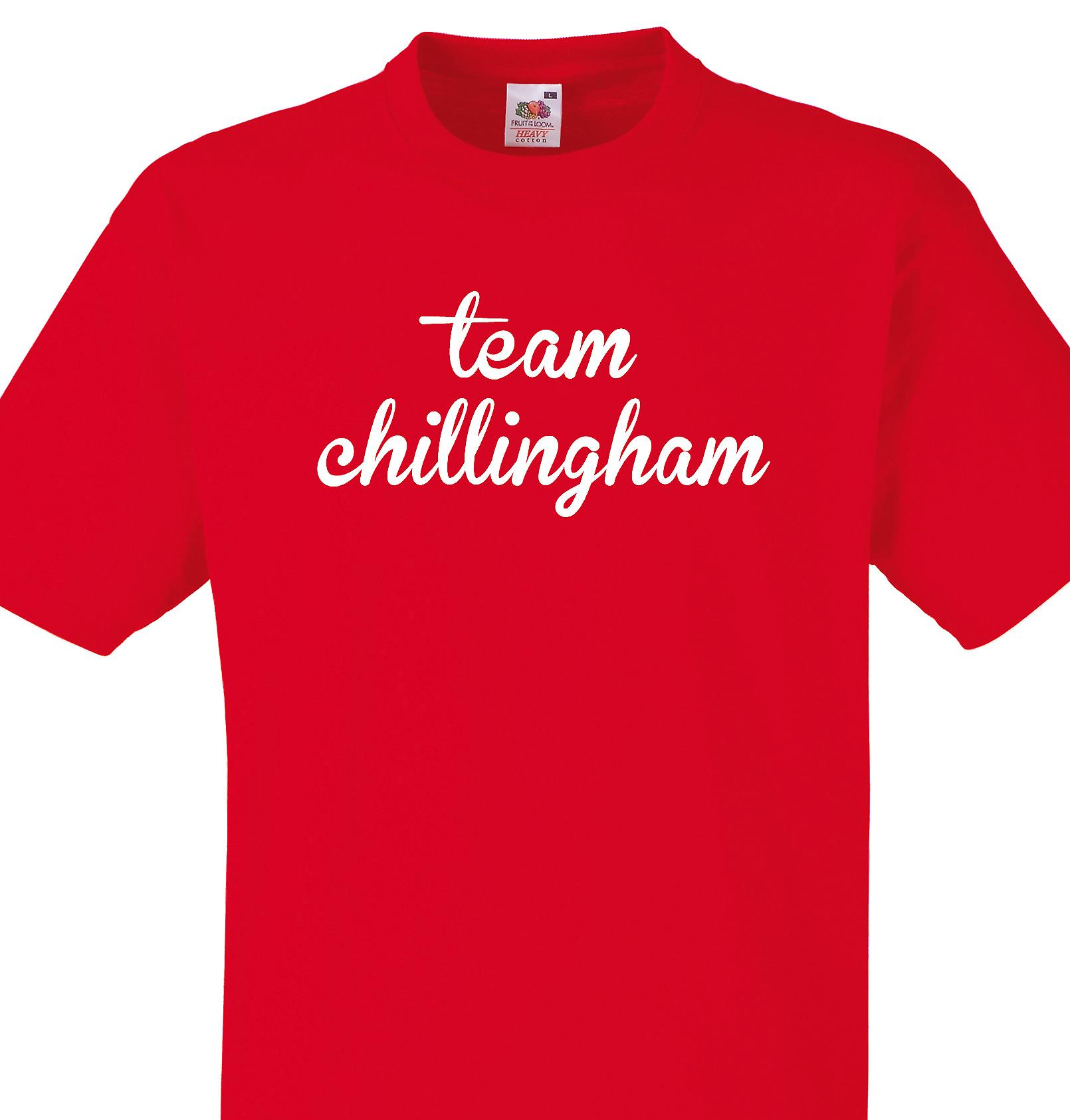 Team Chillingham Red T shirt