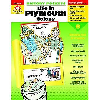 History Pockets, Life In Plymouth Colony, Grades 1-3