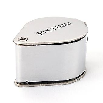 Jewellers Loupe 30 Glass Jewellery 21mm Magnifier - Hallmark Eye Lens