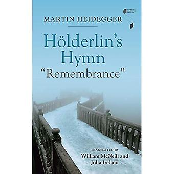 Hoelderlin's Hymn \