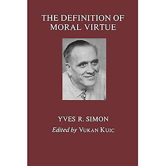 Definition of Moral Virtue