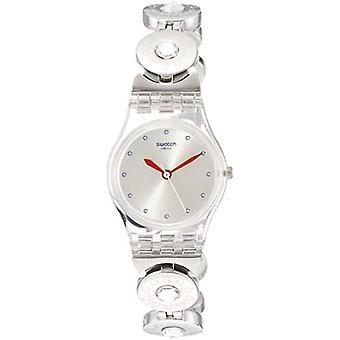 Swatch analogique quartz femme avec bracelet en acier inoxydable LK375G