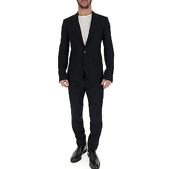 Dsquared2 Blue Cotton Suit