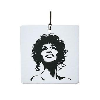 Whitney Houston Car Air Freshener