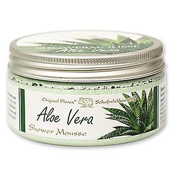 Florex organ i bruser mousse Aloe Vera med fåremælk mælk nærende olie 200 ml