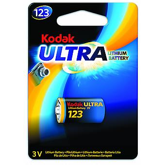 Kodak bateria litowa CR123A, CR123, 123, 3V