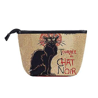 Steinlen - tournee du chat noir makeup bag by signare tapestry / makeup-art-ts-chat