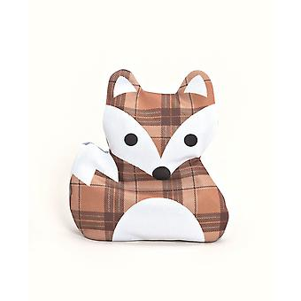 Cute Fox Childrens Small Cherrystone Heat Pack: Brown