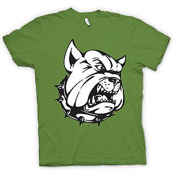 レディース t シャツ - ブルドッグ ガード犬 - おかしい