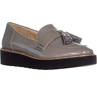 Naturalizer August Slip-on Loafers, Grey Patent