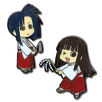 Pin Set - Negima - New Konoka et Setsuna (Ensemble de 2) Anime Licence ge7361