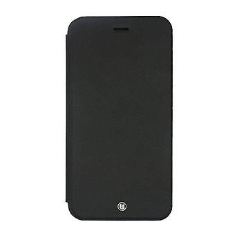 Samsung Galaxy S6 Case Black PU Leather Folio