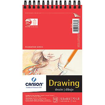 Foundation Wire Bound Drawing Pad 5.5