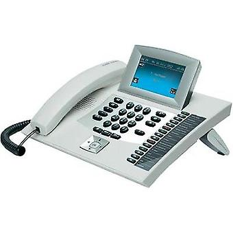 PBX ISDN Auerswald COMfortel 2600, white Answerphone, Headset connection Touch display White, Silver