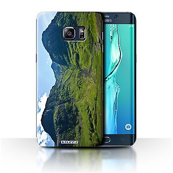 STUFF4 Case/Cover for Samsung Galaxy S6 Edge+/Valley/Scottish Landscape