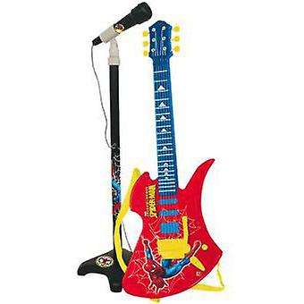Marvel Chitarra Con Micro Spiderman