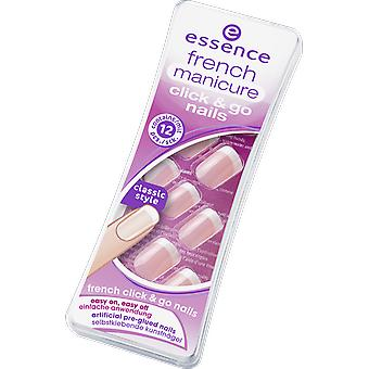 Essence Artificial Nails Click & Go (Woman , Makeup , Nails , Fake nails)