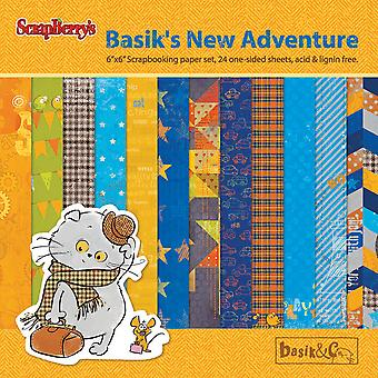 ScrapBerry's Basik's New Adventure Paper Pack 6