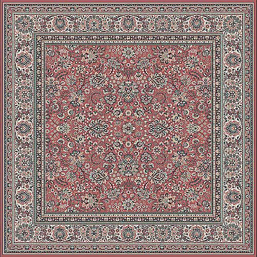 Royal Russet 1561-516 Russet ground with ivory border  Rectangle Rugs Traditional Rugs
