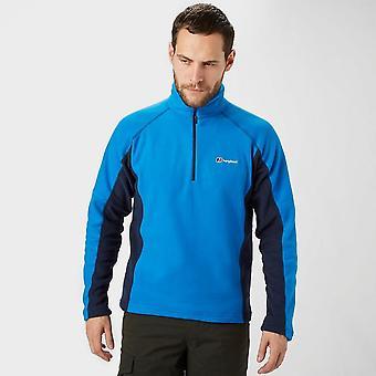 New Berghaus Men's Hartsop Half Zip Fleece Blue