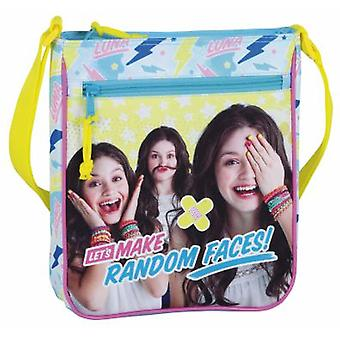 Safta Bolsito Bandolera Soy Luna Faces (Toys , School Zone , Backpacks)