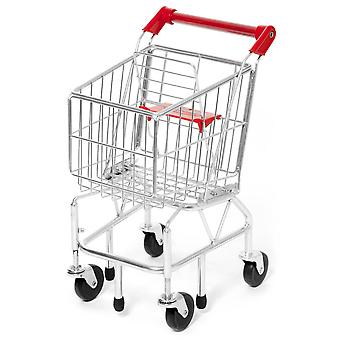 Melissa & Doug Metal Shopping Trolley