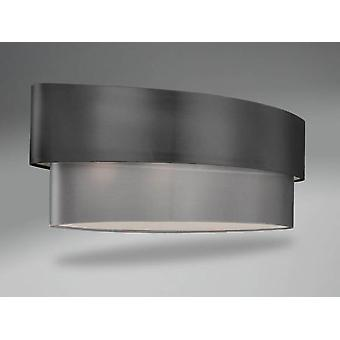 Schuller Sophia Oval Double Shade, Ch (Home , Lighting , Lampshades)