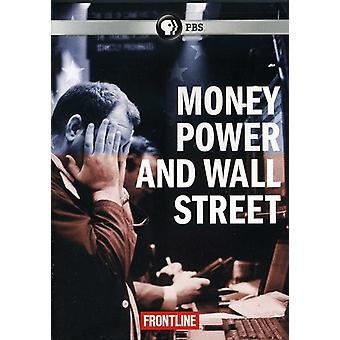 En direct - Frontline: Argent puissance & Wall Street [DVD] USA import