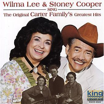 Cooper, Wilma Lee & Stoney - Sing Original Carter Family [CD] USA import