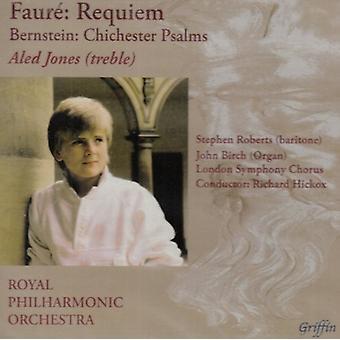 G. Faure - Faur: Requiem; Bernstein: Chichester Salmerne [CD] USA importerer