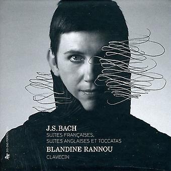 J.S. Bach - J.S. Bach: Suites Fran Aises; Suites Anglaises Et Toccatas [CD] USA importerer
