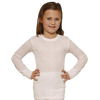 OCTAVE Girls Thermal Underwear Long Sleeve Top (Viscose, Fancy Knit)