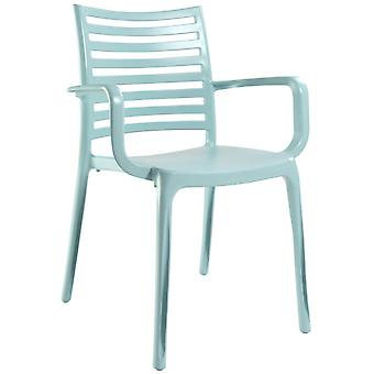 Grosfillex Sunday Lino Mint Armchair