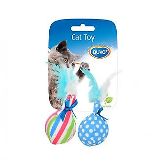 Duvo+ Cat Toy Balls With Pen 14 X 8 X 4 Cm