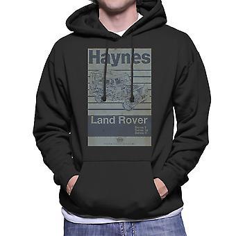 Haynes Workshop Manual Land Rover Stripe mannen Hooded Sweatshirt