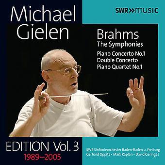 Brahms / Kaplan / Wdr Rundfunkchor Koln - Gielen edizione: importazione USA Vol 3 [CD]