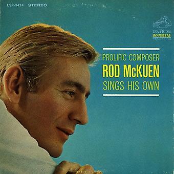Rod McKuen - Prolific Composer Rod McKuen Sings His Own [CD] USA import